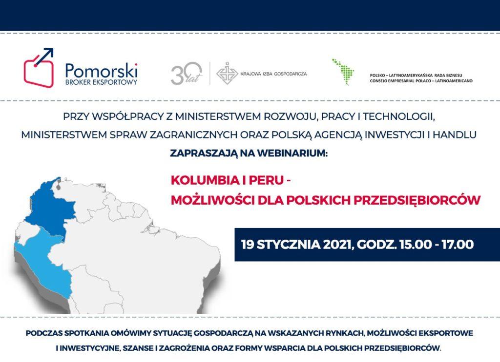 Kolumbia i Peru: Możliwości dla Polskich Przedsiębiorców