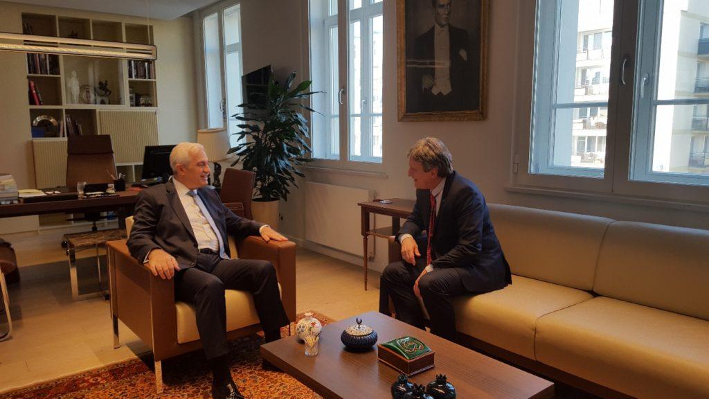 Wywiad z Tunc Ugdul, Ambasadorem Turcji