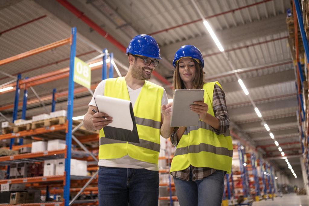 Handel hurtowy w lutym i nowe zamówienia w przemyśle