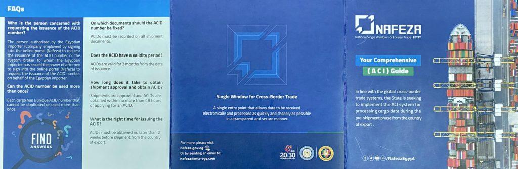 Egipt: zaawansowany system informacji o ładunku (ACI)