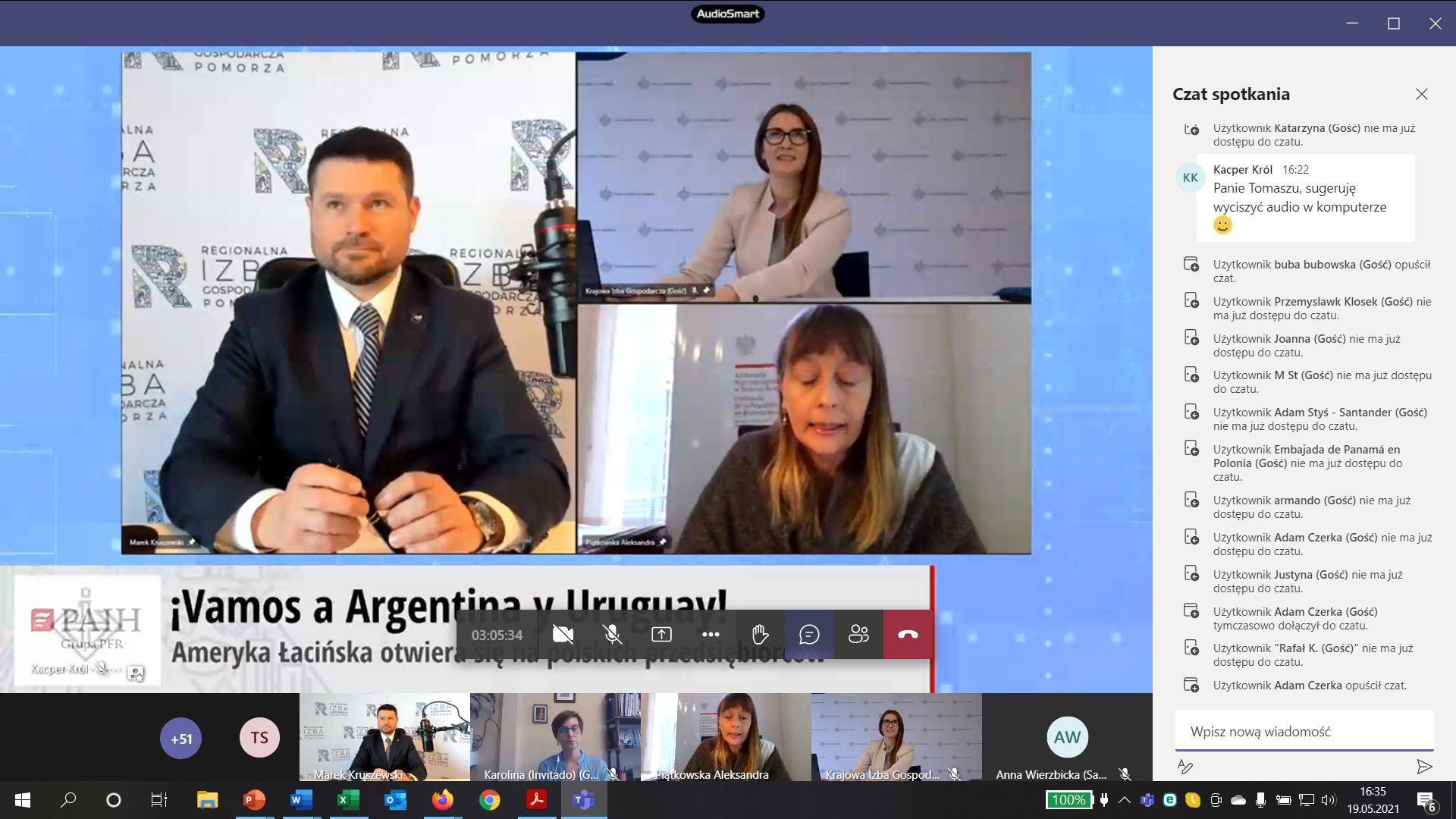 "Relacja: seminarium ""Ameryka Łacińska: ¡Vamos a Argentina y Uruguay!"""