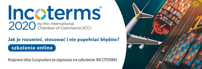 Szkolenie online Incoterms2020